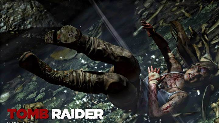 Tomb Raider – Fall From Top
