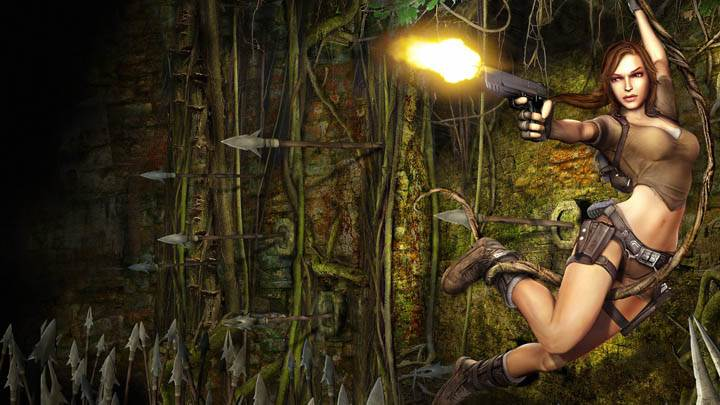 Tomb Raider – Jump & Shooting