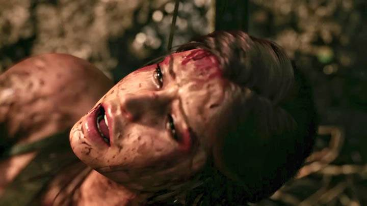 Tomb Raider – Lara Crying of Pain