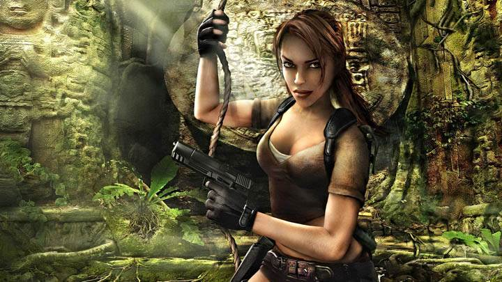Tomb Raider – Lara Looking Front