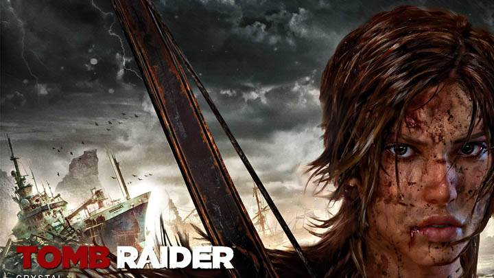 Tomb Raider – Lara Wounded Face Closeup