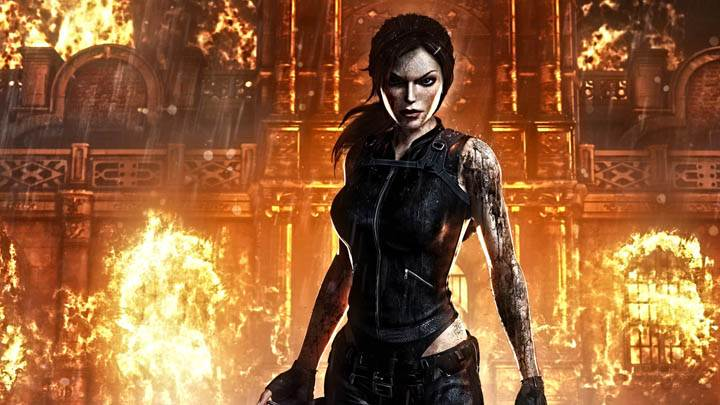 Tomb Raider – Outside Burning House