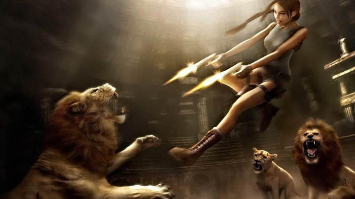 Tomb Raider – Shooting Lions