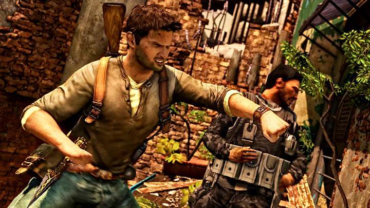 Uncharted 2 – Drake Punching