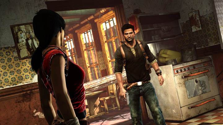 Uncharted 2 – Talking in a Room