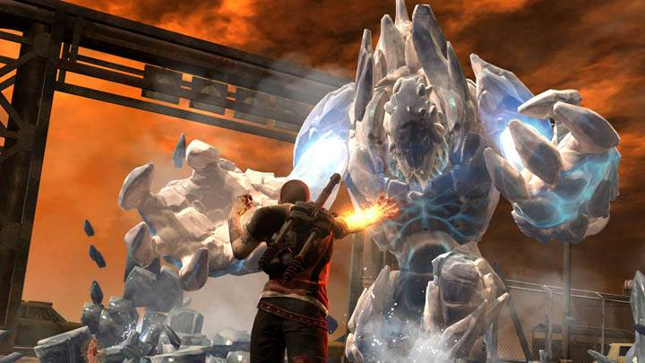inFAMOUS 2 – Big White Monster