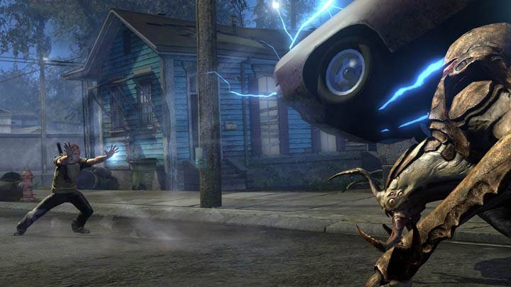 inFAMOUS 2 – Car Flying