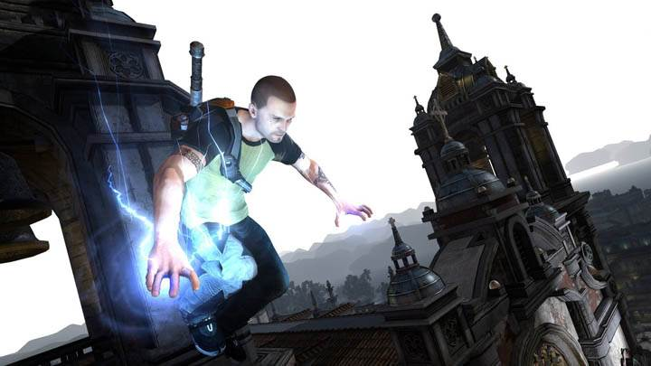 inFAMOUS 2 – Jump from a Church