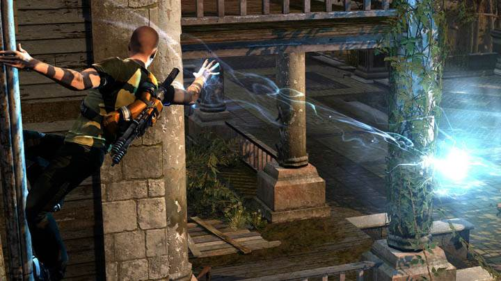 inFAMOUS 2 – Kill from a Pole