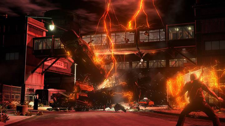 inFAMOUS 2 – Running into the Burning House