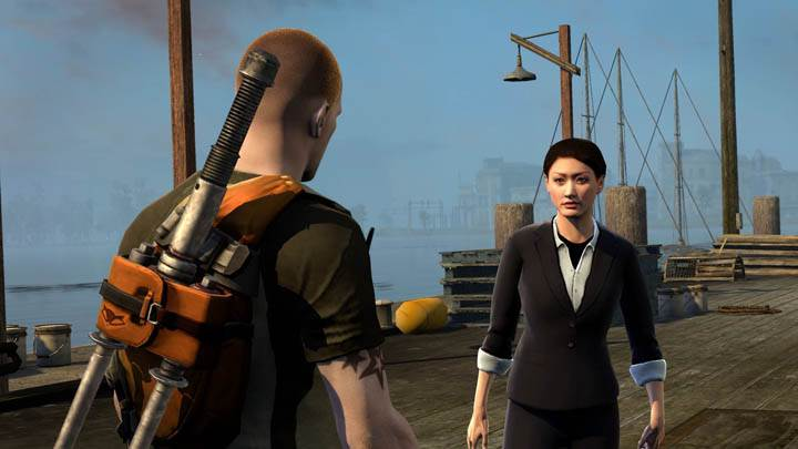 inFAMOUS 2 – Talking on Dock
