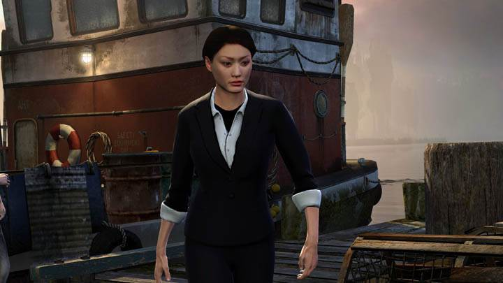 inFAMOUS 2 – Women in Black Dress