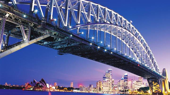 Amazing Sydney Bridge Closeup