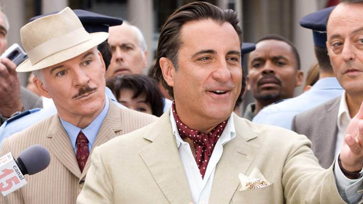 Andy Garcia Talking In The Pink Panther