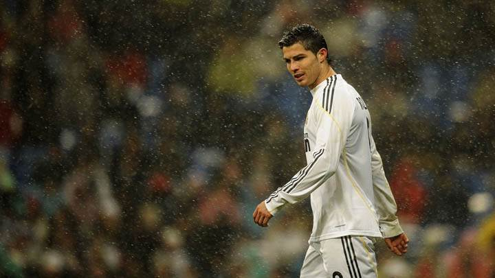 Cristiano Ronaldo Real Madrid in Sports White Dress