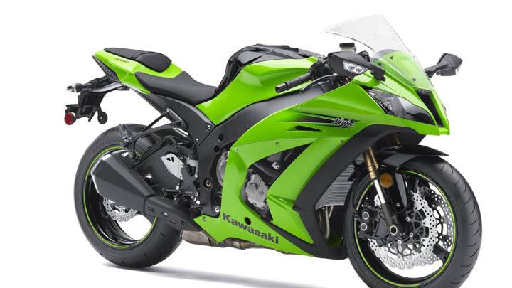 Kawasaki Ninja ZX 10R- Green Color