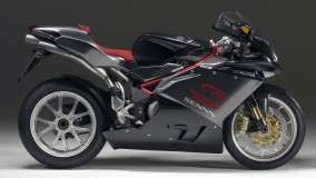 MV Agusta F4 &#8211; Side Pose Black Color