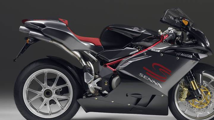MV Agusta F4 – Side Pose Black Color