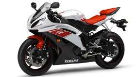 Yamaha YZF R6 – White Red Color