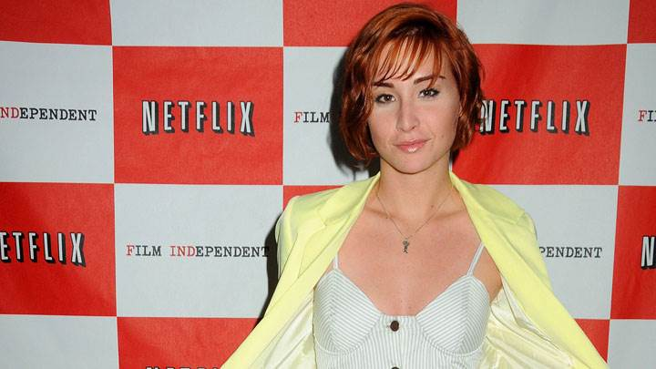 Allison Scagliotti Smiling at NETFLIX Event