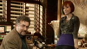Saul Rubinek & Allison Scagliotti in Warehouse 13