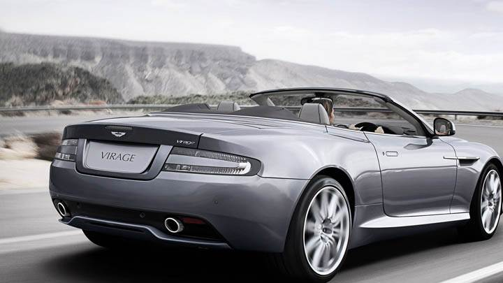 2011 Aston Martin Virage Volante On Highway