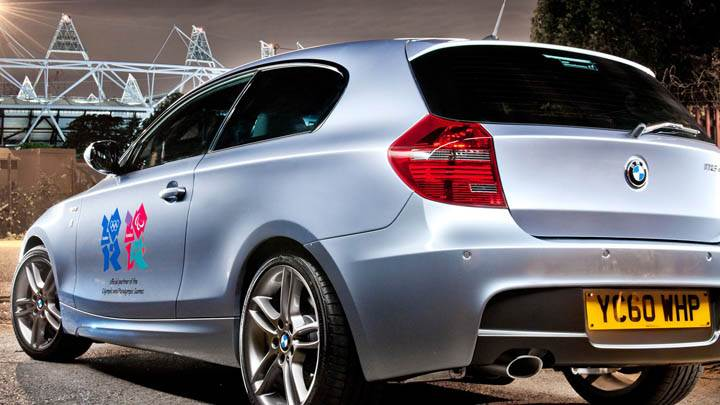 2012 BMW 1 Series Performance Edition Side Back In Silver