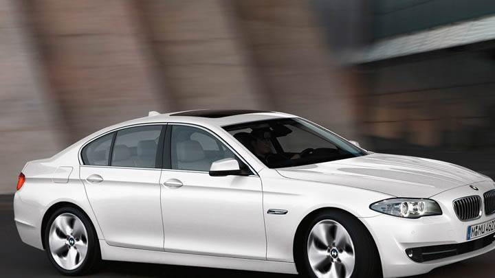 2012 BMW 520D Efficient Dynamics Edition In White Color