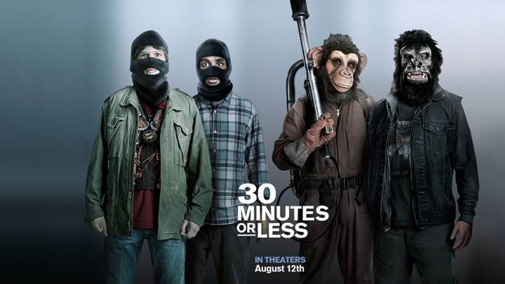 30 Minutes Or Less Cover Poster