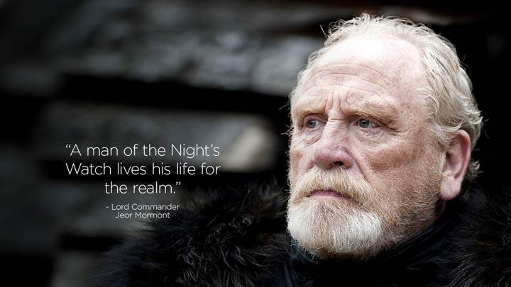 A Man Of The Nights Watch Lives His Life For The Realm