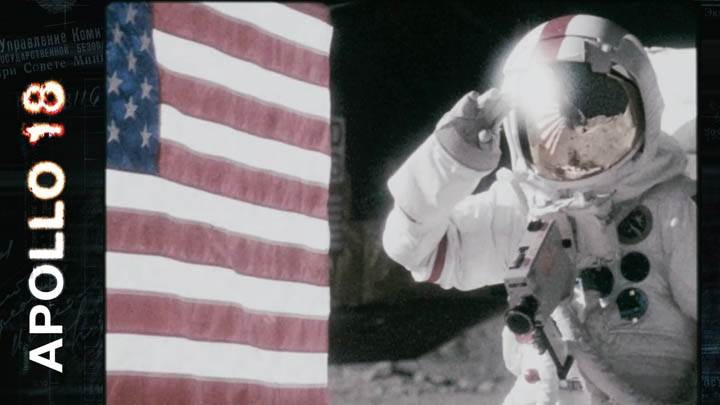 Apollo 18 Usa Flag