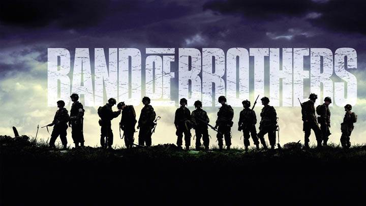 Band Of Brothers Soldiers On A Mountain