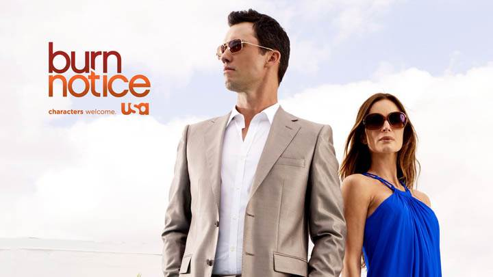 Burn Notice – Gabrielle Anwar & Jeffrey Donovan Photoshoot