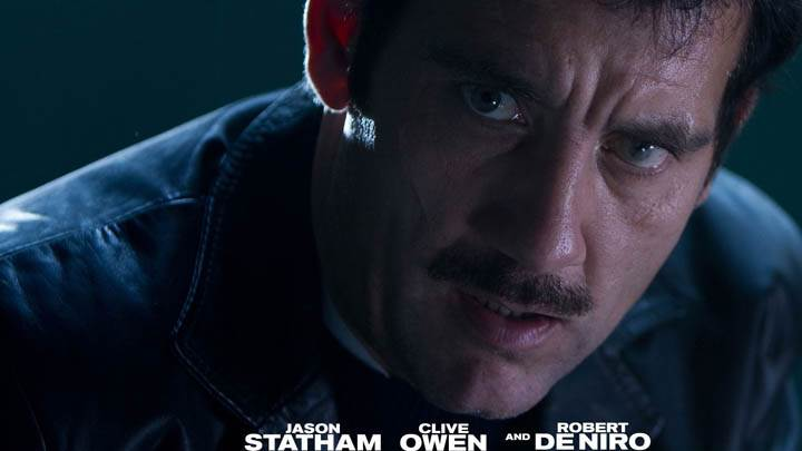 Clive Owen Face Closeup In Killer Elite