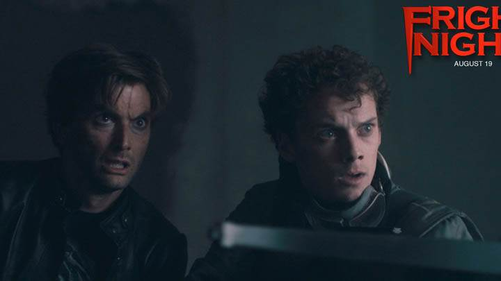 David Tennant And Anton Yelchin In Fright Night