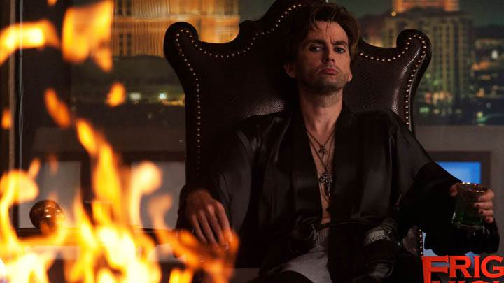 David Tennant Sitting On Chair In Fright Night