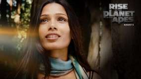 Freida Pinto Face Closeup In Rise Of The Planet Of The Apes