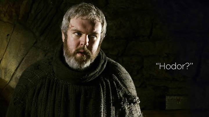 Game Of Thrones – Hodor