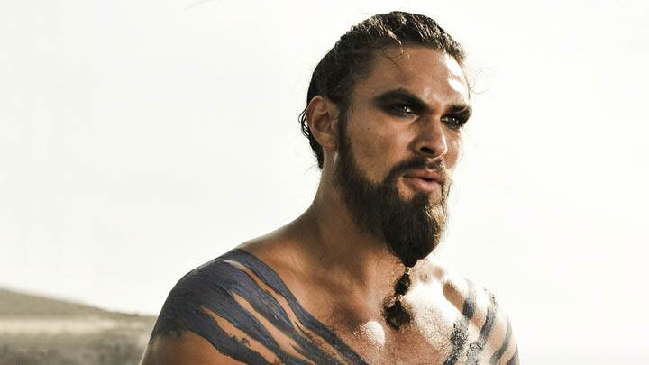 Game Of Thrones – Jason Momoa Looking Side Photoshoot