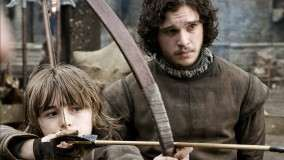 Game Of Thrones – Kit Harington With Boy Photoshoot