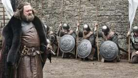 Game Of Thrones – Mark Addy Sword In Hand Photoshoot