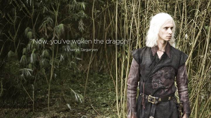 Game Of Thrones – Now You've Woken The Dragon