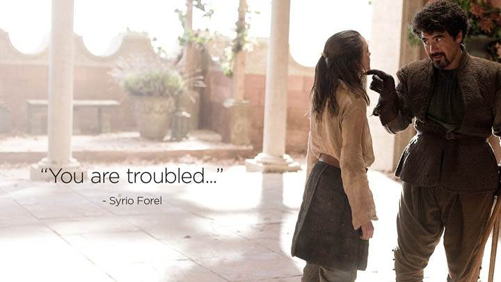 Game Of Thrones – You Are Troubled