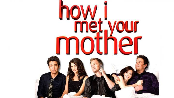 How I Met Your Mother Poster On White Background