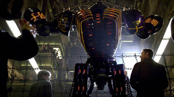 Hugh Jackman & Dakota Goyo In Real Steel