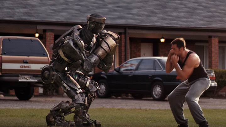 Hugh Jackman Doing Boxing In Real Steel