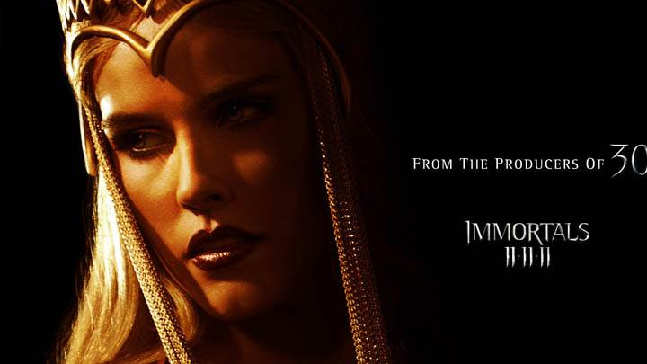 Immortals – Face Closeup Of A Queen