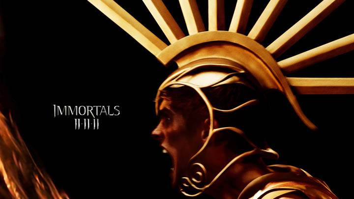 Immortals – Golden Metal Dress