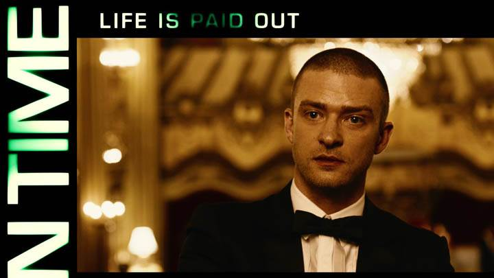In Time – Justin Timberlake Looking Front