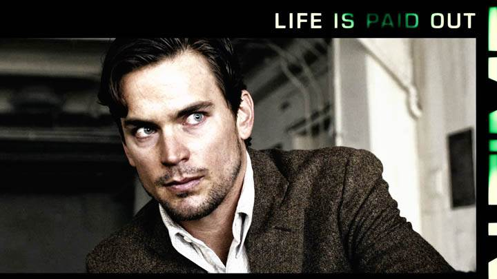 In Time – Matt Bomer Looking Side